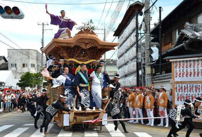 岸和田だんじり祭の関連画像1