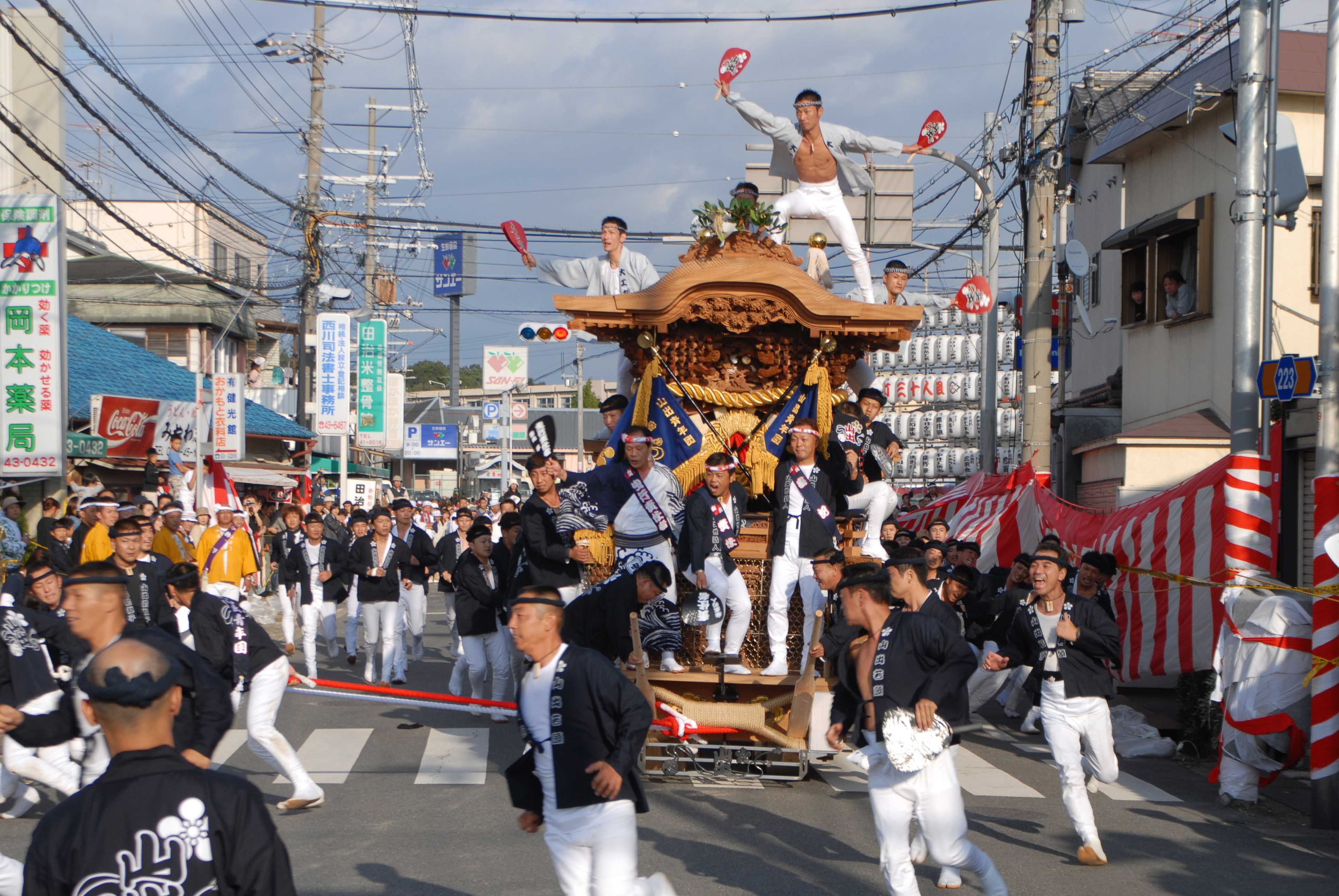 岸和田だんじり祭の関連画像2