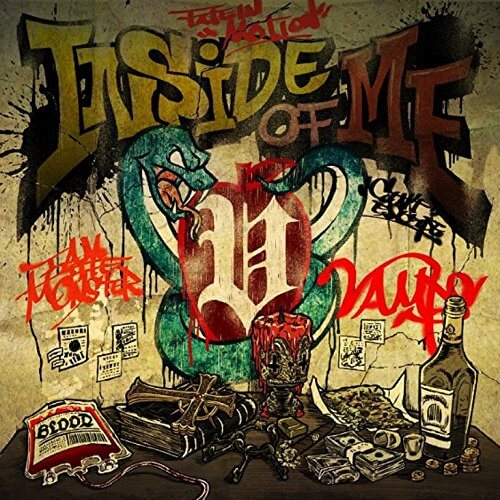 INSIDE OF ME feat. Chris Motionless of Motionless In Whiteのメイン画像