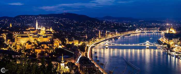 ブダペストの夜景のメイン画像
