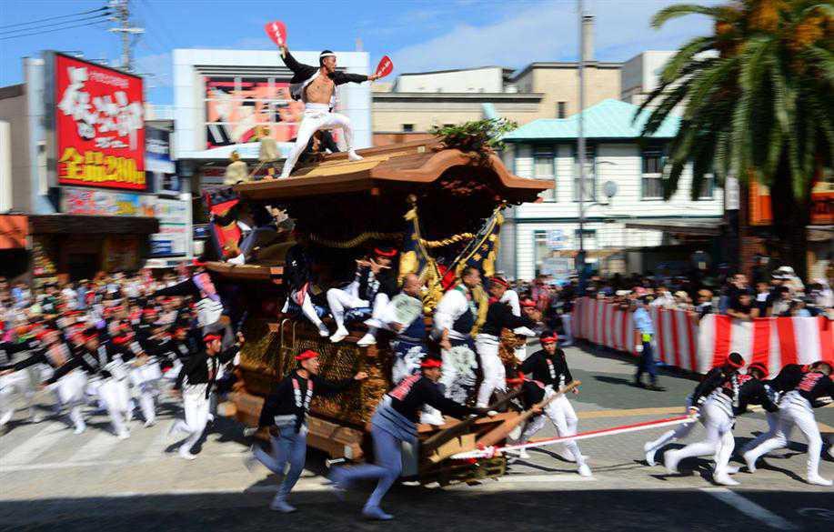 岸和田だんじり祭のメイン画像