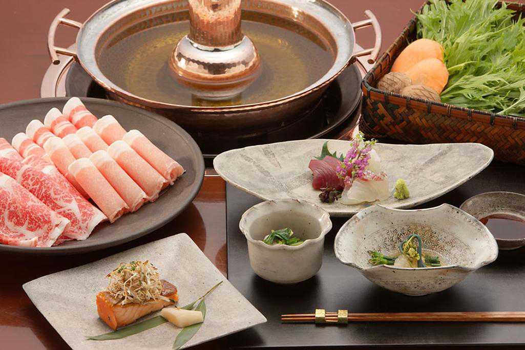 鹿児島黒豚と水菜のしゃぶしゃぶのメイン画像