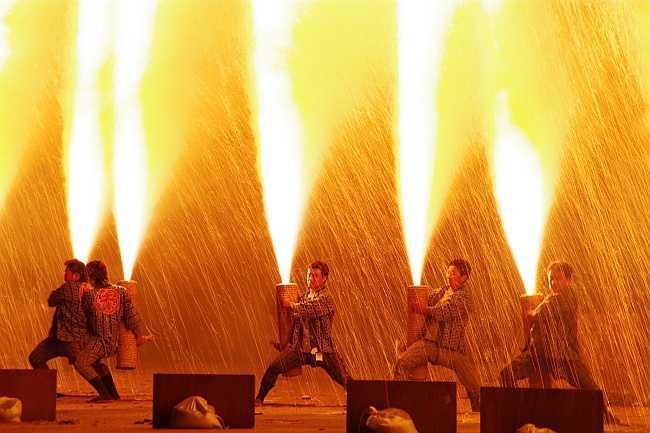 豊橋手筒花火のメイン画像