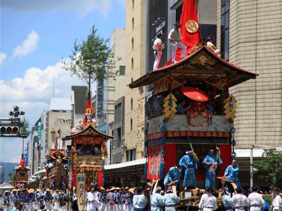 京都祇園祭のメイン画像